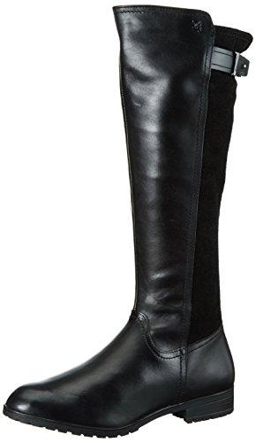 Caprice 25551, Stivali Alti Donna Nero (BLACK COMB 019)
