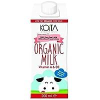 Koita Organic Low Fat Milk, 200 ml