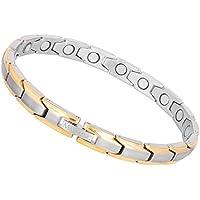 Titan Magnettherapie Armbänder für Frauen, elegante Magnet Armband Schmerzlinderung für Arthritis Karpaltunnelsyndrom... preisvergleich bei billige-tabletten.eu