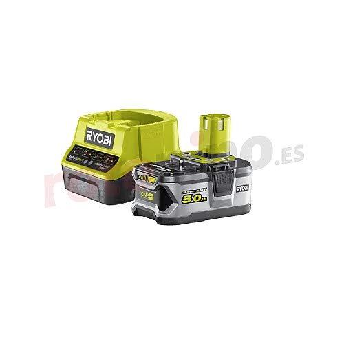 lladegerät 18V, 5,0 Ah, ONE+, mit Überlastungsschutz und Ladezustandsanzeige, RC18120-150 ()