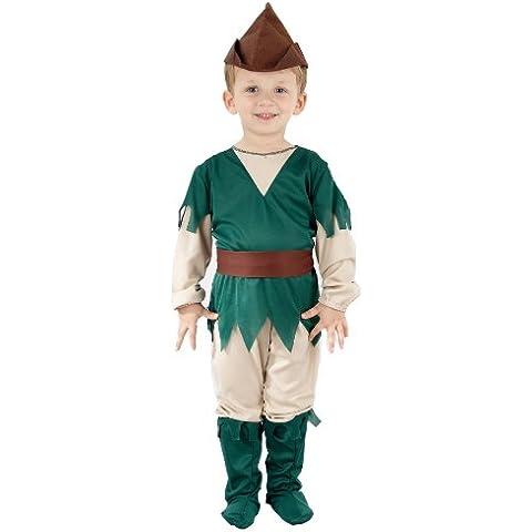 Brown Robin Hood Costume for 3 - 5 Year Old (disfraz)