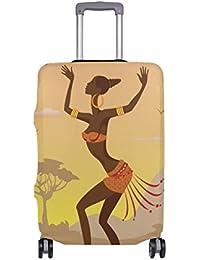 Besten Preis für COOSUN Tanzen Afrikanerin Print-Reise-Gepäck Schutzabdeckungen Waschbar Spandex Gepäck Koffer Cover - Passend... bei kinderzimmerdekopreise.eu
