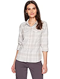 Columbia Silver Ridge Long Sleeve Flannel – Camisa de Manga Larga para Mujer 411bd4d1df2