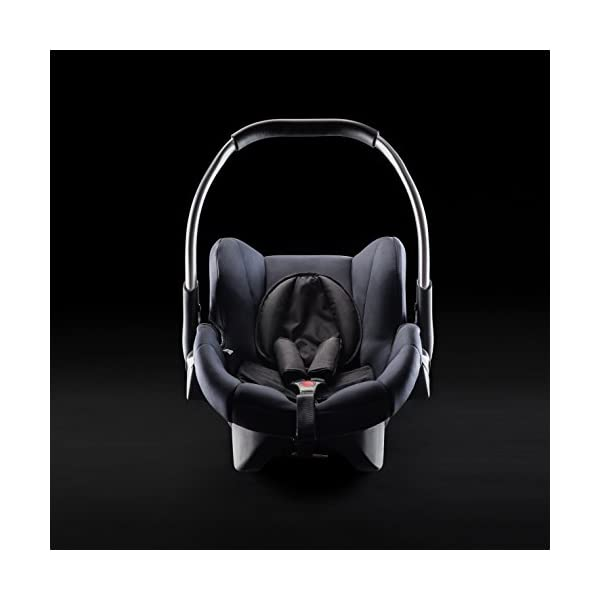 Hauck Comfort Fix, Lightweight Infant Car Seat Group 0+, ECE 44/04, from Birth to 13 kg, Side Impact Protection, Compatible with hauck Isofix Base, Black Hauck Compatible with hauck comfort fix base Side impact protection Quality, breathable stretch fabrics 3