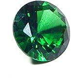 Urancia® Green Zircon Uparatna Stone Baikrantamoni Zargun Jarkan Stone 4.6 Cts Lab Certified For All