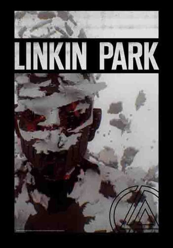 Linkin Park Living Things--Bandiera Poster 100% poliestere-dimensioni 75x 110cm