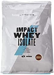 Myprotein Impact Whey Isolate Protein Chocolate Smooth, 1er Pack (1 x 1000 g)