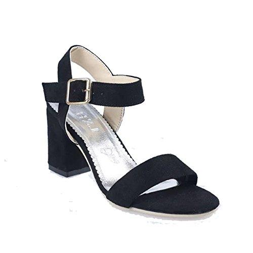 summer fashion sandales Lady Joker/Chaque mot dans la version coréenne de talons hauts la sangle mince/chaussures confortables open toe A