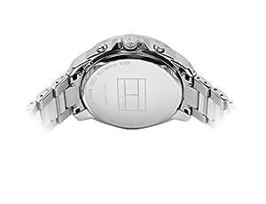 Tommy Hilfiger 1781391 - Reloj de cuarzo para mujer, correa de acero inoxidable color plateado de Tommy Hilfiger