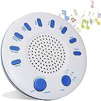 White Noise Machine, Sleep Sound Machine Mit 9 Natürlichen Klängen Und Timer, Spa-Entspannung, Schlaftherapie... preisvergleich bei billige-tabletten.eu