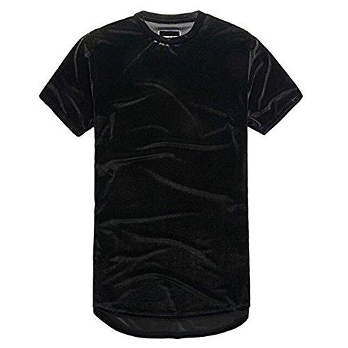 AOTUBON Herren T-Shirt Schwarz