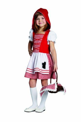 Rubie's 1 2701 128 - Rotkäppchen Kostüm, Größe 128 (Rotkäppchen Kostüm Kinder)