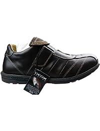 GEOX Scarpe Kids Sneakers Hoshiko In Pelle Blu J745GC-01454-C0820 dUtn7Rv2
