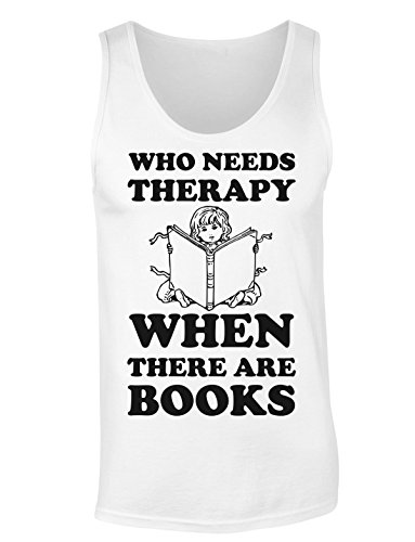 Who Need Therapy When There are Books Women's Tank Top Shirt