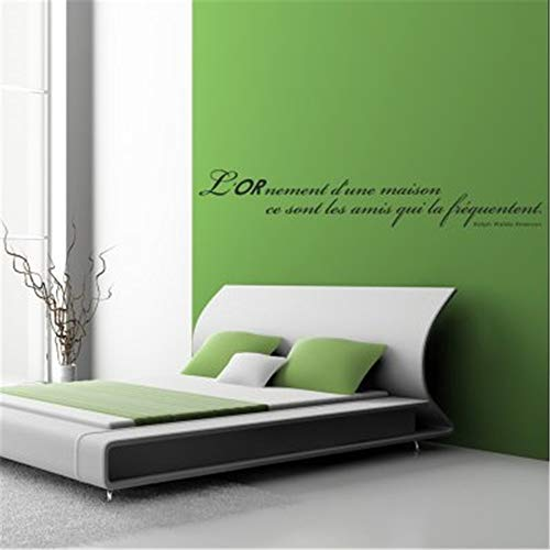 Wandaufkleber Schlafzimmer Aufkleber zitieren Ralph Waldo Emerson billig