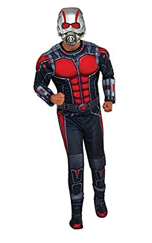 Half Man Costumes - Ant-Man Deluxe - Adult Costume Men: