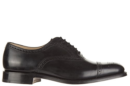 Church's scarpe stringate classiche uomo in pelle nuove brogue toronto nero EU 43.5 6185 51