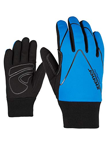 Ziener Kinder Unico Junior Glove Crosscountry Langlauf/Outdoor/Funktions-Handschuhe, True Blue, XL -