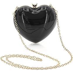 Banned - Bolso cruzados de Material Sintético para mujer, color negro, talla One size