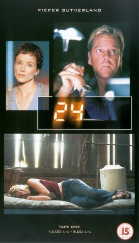 Click for larger image of 24 - Season 1 [VHS] [2002]