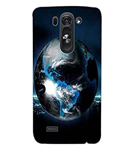 ColourCraft Earth Design Back Case Cover for LG G3 S