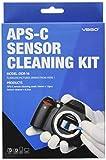 UES DDR-16 Equipo Limpieza Sensor de APS-C para SLR DSLR Cámara Digital CCD CMOS Sensores: 12 Hisopos de Sensores + 15ml Limpiador Líquido