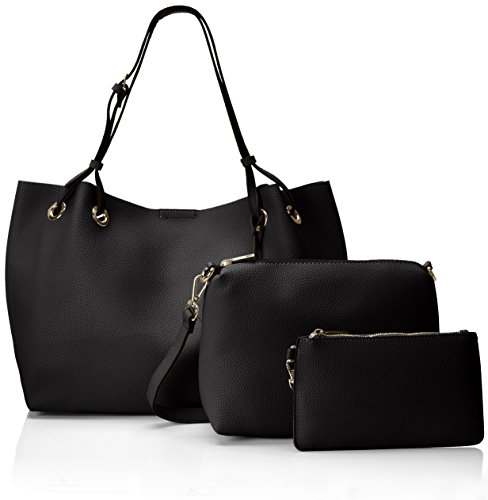 Buffalo - Bag 601918 Leather Pu Borse A Tracolla Donna Nero black 01