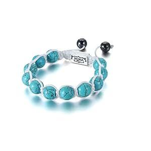 Shimla SH 041S Turquise Beads Bracelet of Length 5.5cm - 10.5cm
