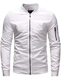 Homebaby Giacca da Baseball da Uomo Militare Felpa Classico Manica Lunga  Pullover Maglione Camicia Sportivo Maglia 0a778c1d0ef