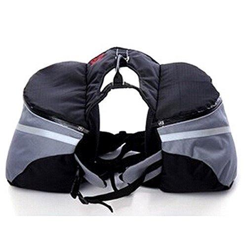 dimart Pet Puppy & Hund tragen Outdoor Sports Bag Rucksack Satteltasche für Reisen Wandern Trip