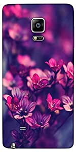 Snoogg Serene Flowers Designer Protective Back Case Cover For Samsung Galaxy ...