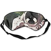 Sleep Eye Mask Astronaut Space Artwork Lightweight Soft Blindfold Adjustable Head Strap Eyeshade Travel Eyepatch preisvergleich bei billige-tabletten.eu