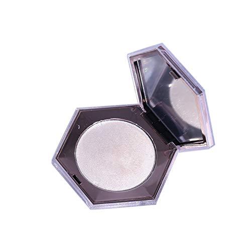 Allbestaye 3D Highlighter Bronzer Puder Contouring Highlighting Makeup Glow Kit Face Contour Shimmer Luminous Illuminator -