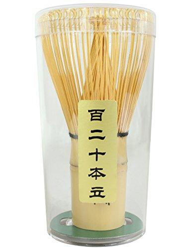 Docteur Roi (Doctor King®) fabriqué à la main en bambou Fouet à matcha Thé (qualité premium: 120 dents)