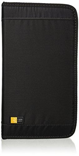 Case Logic CD/DVD Wallet Aufbewahrungstasche für 72 CDs/DVDs (oder 32 inkl. Booklet) schwarz -