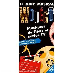 Le Quiz Musical : Wouégo Musiques de Films et Séries TV (Coffret 3CD) [Import anglais]