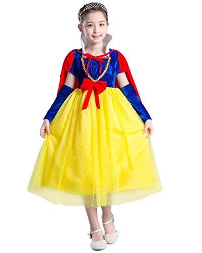 CoolChange Kinder Kostüm Schneewittchen Kleid, Größe: ()