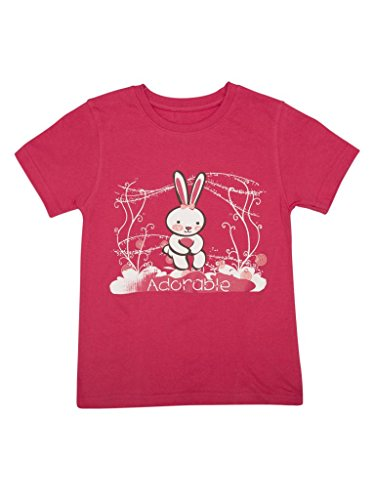 Offbeat Girls T-shirt 12-13 Years Dark Pink