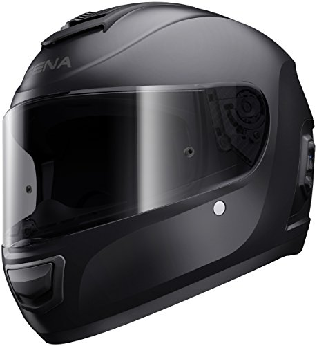 Momentum, Dual - Bluetooth Helmet, Full Face, Matt Black, XL size, ECE