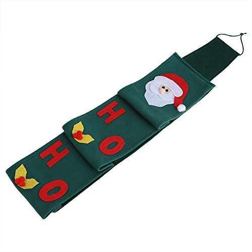 Eboxer Santa Rolle Rolle Papier Tissue Cover hängende Halter WC Badezimmer Weihnachten