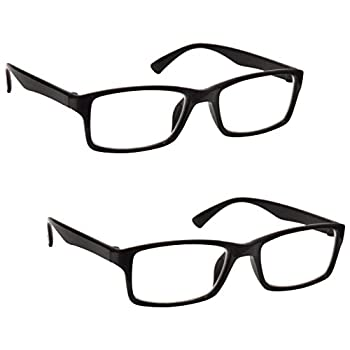 b884eeb321 The Reading Glasses Company Black Readers Value 2 Pack Mens Womens  UVR2092BK +1.50 ┃ Cheapest Bluray Players 》 123PriceCheck.com
