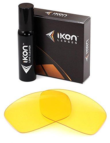Ikon Iridium Ersatzgläser für Dragon Vantage Sonnenbrillen, polarisiert, Verschiedene Optionen, Herren, HD Yellow, Einheitsgröße