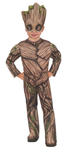 Galaxy Of Guardians Kostüm The Kinder - Guardians Of The Galaxy Vol 2 Baby Groot Deluxe Child Costume 3-4T