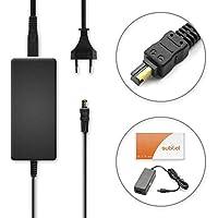subtel® Fuente de alimentación Sony Cyber-shot DSC-H3 -H7 -H9 -H10 -H50 DSC-W1 -W12 -W30 -W50 -W180 DSC-P200 DSC-V1 -V3 - ca. 3m, AC-LS5, 4.2V cable de corriente