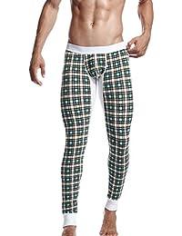 SEOBEAN Homme Long John Sport Sous-Vêtement Pantalon 2272