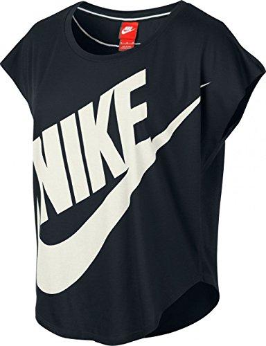 Nike Signal T-Shirt pour femmes noir - Noir/sail