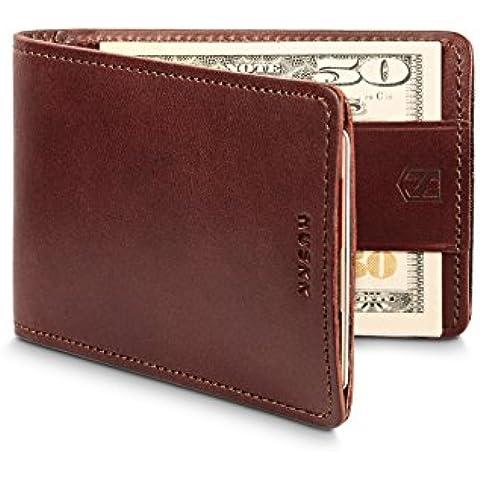 HUSKK Leather Wallet-Men for Credit Card Holder Sleeve