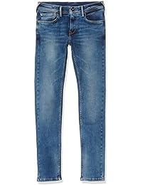 Pepe Jeans Finly, Niñas, Azul (Denim), 5 años (Talla del fabricante: 5)