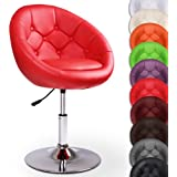 Miadomodo Chesterfield Armchair Stylish Lounge Tub Chair (Red) Home Living Room Furniture