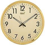 Ajanta - 467-IVORY Silent Movement Round Plastic Wall Clock (405 cm x 405 cm x 50 cm, Ivory)